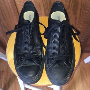 LIKE NEW Leather Converse